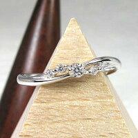 ダイヤモンドリングダイヤリングスレンダーシンプルpt900プラチナ900指輪【送料無料】
