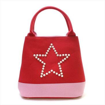 【値下げ価格】StarLean(スターリアン) スタースタッズキャンパストートバッグ RED (レッド) totebag CLUTCH BAG クラッチバッグ バッグ ユニセックス 星 スター トレスター muta ムータ