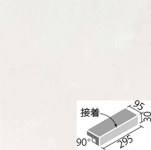 LIXIL(INAX) スタイルプラス ホワイトバーチ 300x100mm角垂れ付き段鼻(外床タイプ)(接着) IPS-301N/WB-11