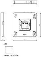 アプリコットTCF4341型用リモコンTCM318R