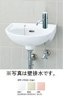 平付大形手洗器(水栓穴1)床排水セットL-15AG/○○+LF-E01