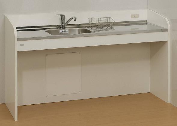ケアハウスキッチンハーフタイプ間口サイズ/1500mm:etile ショップ