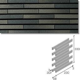 ニッタイ工業株式会社 外装壁タイル グラデボーダー(接着剤張り工法) GD-6RU-50 ボーダー1/4レンガ張り(ユニット)<準>