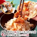カニ丼 甲羅盛り セイコガニ 2個 越前ガニ 出汁つゆ セッ...