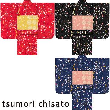 子供浴衣 ツモリ チサト tsumori chisato kids yukata 花火120 130 140 150 こどもゆかた 女児 ジュニア