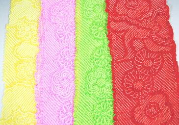 子供 帯揚げ 女児用帯上げ 4カラー 正絹絞り 七五三 着物 3歳 7歳