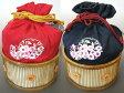 浴衣巾着 ゆかたバック ナカノヒロミチ hiromichi nakano 赤/紺