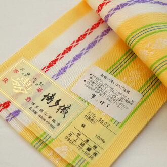 """本筑 which cracking down on is different from the home Chikuzen pure silk fabrics Hakata fabrics west camp thing which """"I close under-sash Date"""", and 2 is low in in"""