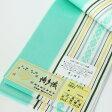 伊達締め 正絹伊達〆 本場筑前 博多織 11 金証紙 薄緑