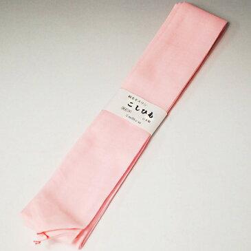 腰紐 別注高級極太腰ひも 別織り防虫加工 ピンク 純毛100% こしひも 日本製 きもの着付け小物 モスリン