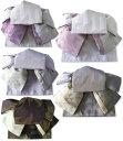 作り帯 浴衣帯 つばめ結び帯 金魚 両面小袋半幅帯 レトロモダン 送料無料
