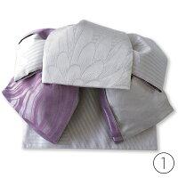 作り帯 浴衣帯 つばめ結び帯 大花 両面小袋半幅帯 レトロモダン お太鼓 送料無料
