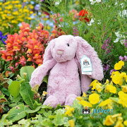 Jellycat Bashful Tulip Bunny Medium ジェリーキャット バシュフル バニー 長耳うさぎ ふわふわ ぬいぐるみ ギフト 癒し プレゼント お祝い 出産祝い 誕生日 最高級 縫いぐるみ ソフト ドール ウサギ バシュフル バニー ピンク 正規代理店 輸入品