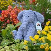 Jellycat  Elephant Mediumイギリスの シャーロット王女 にも愛用された ジェリーキャット もふもふ ゾウ ぬいぐるみ 大人女子 ギフト 癒し プレゼント お祝い 出産祝い 誕生日 最高級 縫いぐるみ ソフト ドール ふわふわ 象 正規代理店 輸入品