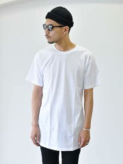 BELLA+CANVAS  LONG TEE  T-Shirt WHITE  ベラキャンヴァス 着丈長め ホワイト 白色 縦長 USA ブランド ストリートファッション 後ろ長め 重ね着 最適