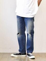 LEVI'S VINTAGE CLOTHING リーバイス  ヴィンテージクロージング 1966 モデル 501(R) ジーンズ 66501-0130 BIG E ダメージ加工 穴 BE E ビッグE 赤ミミ 復刻 新品 正規品