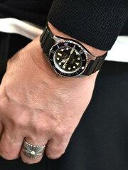 VAGUE WATCH Divers Son BLACKヴォ—グ ウォッチ 時計ダイバーズウォッチ 2way 替えベルト付き日本製