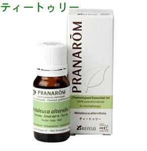 プラナロム ( PRANAROM ) 精油 ティートゥリー ティートリー 10ml ティーツリー エッセンシャル...