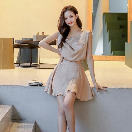 韓国ファッション_春夏_大人カジュアル_レディース_服