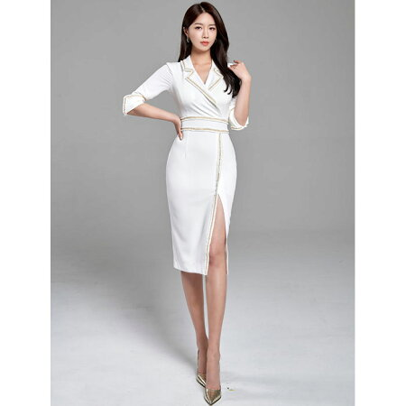 セクシーワンピース_タイト_韓国ファッション_レディース_服