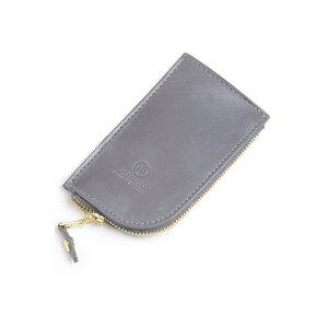 Glenroyal GLENROYAL Zip Key Case 03-5212 Gray Full Bridle Leather New Limited Color