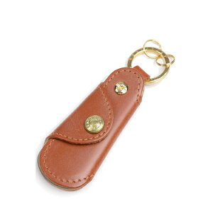 Glenroyal Pocket shoe horn with key ring 03-5802 Oxford Tan Full bridle leather&buffalo horn