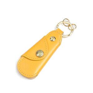 Glenroyal Pocket shoe horn with key ring 03-5802 Gold full bridle leather&buffalo horn