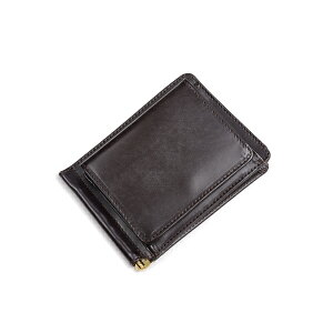 Glenroyal Money clip with coin purse 03-6164 Cigar full bridle leather long-selling model