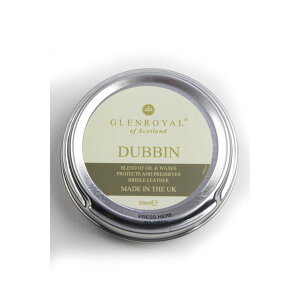 Glenroyal GLENROYAL Davin \ Genuine bridle leather exclusive leather wax beeswax