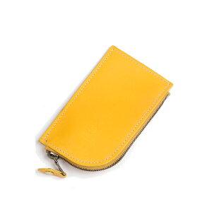 Glenroyal Round Zip Key Case 03-5212 Full Bridle Leather Gold