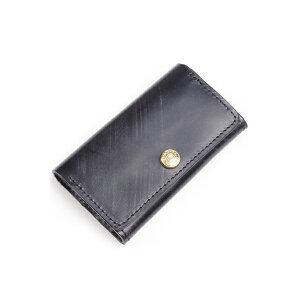 Glen Royal Card Case Business Card Holder 03-6131 Full Bridle Leather New Black