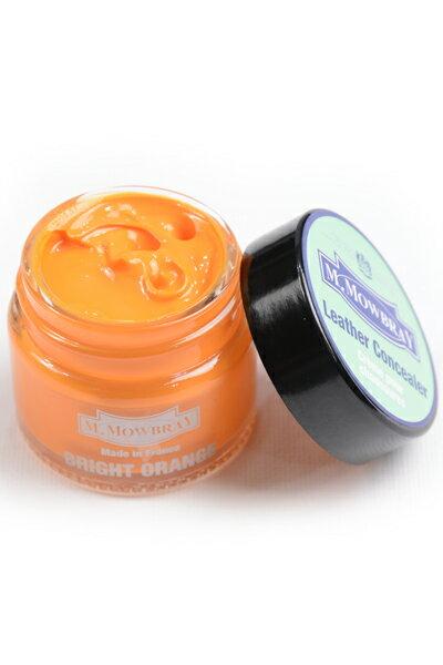 M.モゥブレィ レザーコンシーラー ブライトオレンジ 天然皮革・合成皮革用顔料系コンシーラー キズ、色あせ、補修・着色クリーム画像
