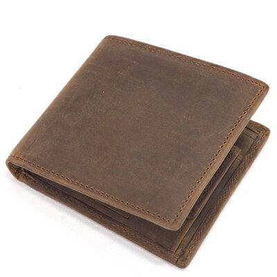 982668afb7cd セトラー(SETTLER)WHCのセカンドライン ワンワールドコレクション ヌバックタイプ オイルドレザー OW1563  二つ折コインケース付財布(COIN WALLET)BROWN(ブラウン