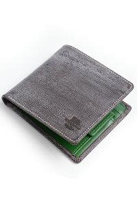 ホワイトハウスコックス WhitehouseCox s7532 コインケース付二つ折り財布 ハバナxケリーグリーン リージェントブライドルレザー ホリデーライン