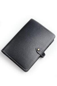 ホワイトハウスコックス WhitehouseCox s8753 オーガナイザー バイブルサイズ ブラックxブラック リージェントブライドルレザーシスム手帳 大