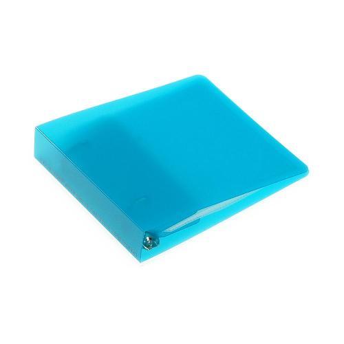 CDファイル 2穴 5ポケット付き Lブルー TRP 収納 シンプル 公式通販サイト画像