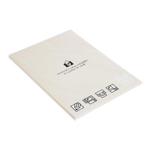 A4用紙 フリーペーパー 80シート アイボリー PASTEL a4ペーパー シンプル 公式通販サイト画像