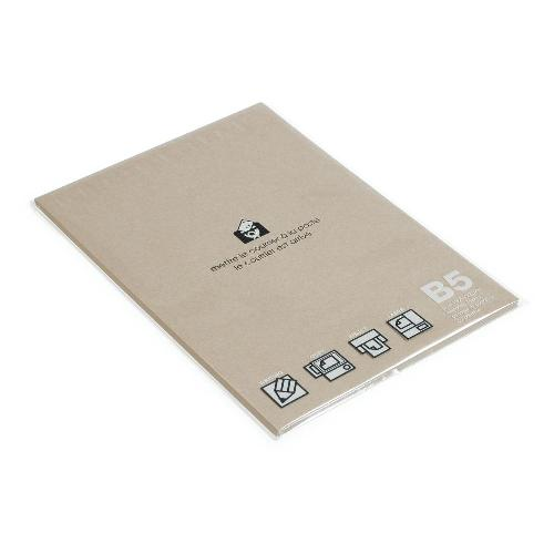 B5用紙 フリーペーパー 50シート クラフト BASIS b5ペーパー シンプル 公式通販サイト画像