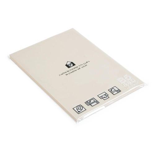B5用紙 フリーペーパー 80シート アイボリー PASTEL b5ペーパー シンプル 公式通販サイト画像
