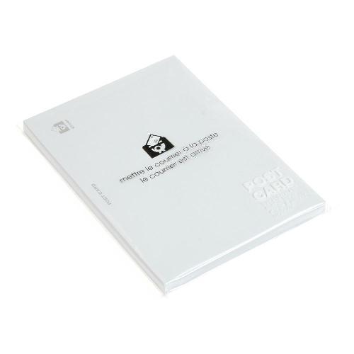 ポストカード カラー 無地 50枚 ホワイト PASTEL パステルカラー シンプル 公式通販サイト画像