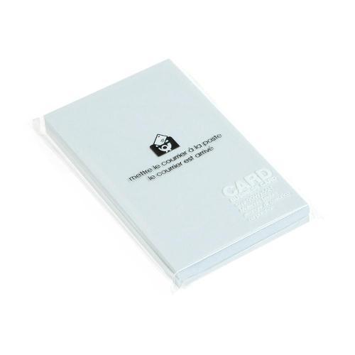 カード 名刺サイズ 無地 50枚 アジサイ PASTEL シンプル 公式通販サイト画像