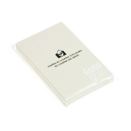 カード 名刺サイズ 無地 50枚 アイボリー PASTEL シンプル 公式通販サイト画像