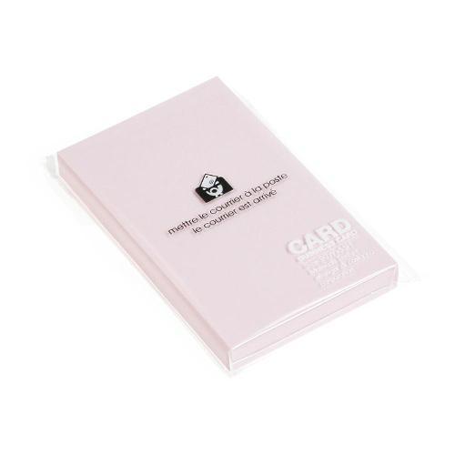 カード 名刺サイズ 無地 50枚 コスモス PASTEL シンプル 公式通販サイト画像