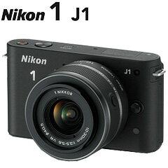 【送料無料】在庫あり 翌営業日出荷Nikon 1 J1 標準ズームレンズキット ブラック
