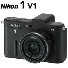 【送料無料】在庫あり 翌営業日出荷【送料無料】Nikon 1 V1 薄型レンズキット ブラック