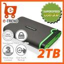 【送料無料】トランセンド TS2TSJ25M3 [USB3.0対応ポータブル外付けHDD 2TB]
