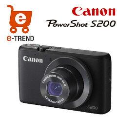 【送料無料】在庫あり【送料無料】PowerShot S200 ブラック