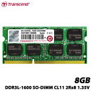 トランセンド TS1GSK64W6H [8GB DDR3L-1600 SO-DIMM CL11 2R...