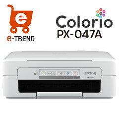 カラリオ PX-047A [A4インクジェットプリンター/多機能/無線LAN/4色顔料/Eps…
