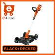 【送料無料】 ブラックアンドデッカー BLACK + DECKER GCM18-JP [18V 自給式ナイロントリマーワゴンプラス]